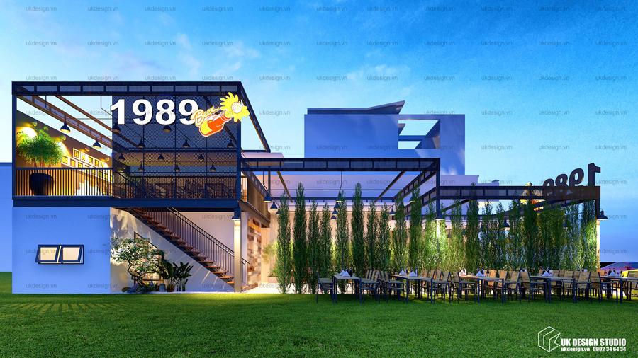 thiết kế nhà hàng sân vườn - 1989 - 3
