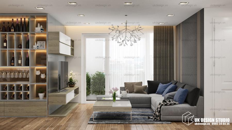 Thiết kế nội thất căn hộ Him Lam – Chợ Lớn