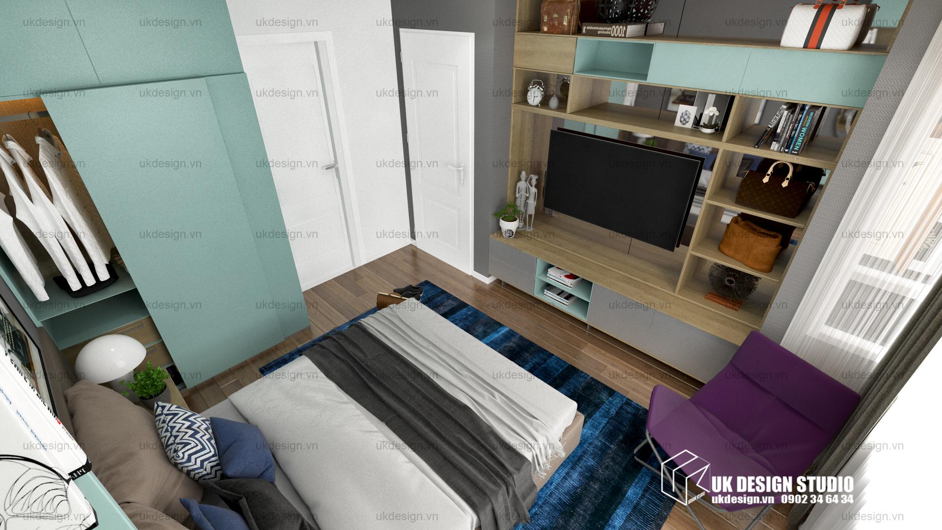 Thiết kế nội thất căn hộ chung cư 12