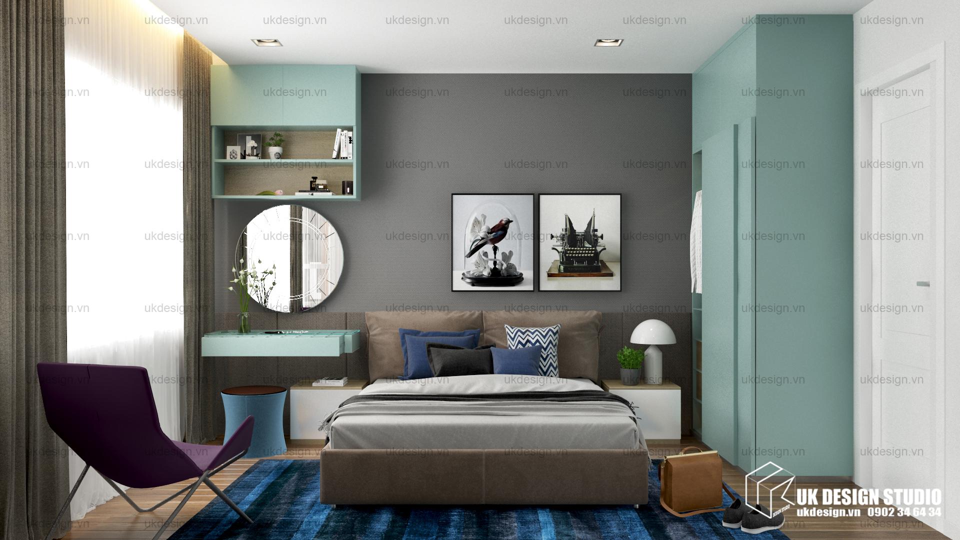 Thiết kế nội thất căn hộ chung cư 13
