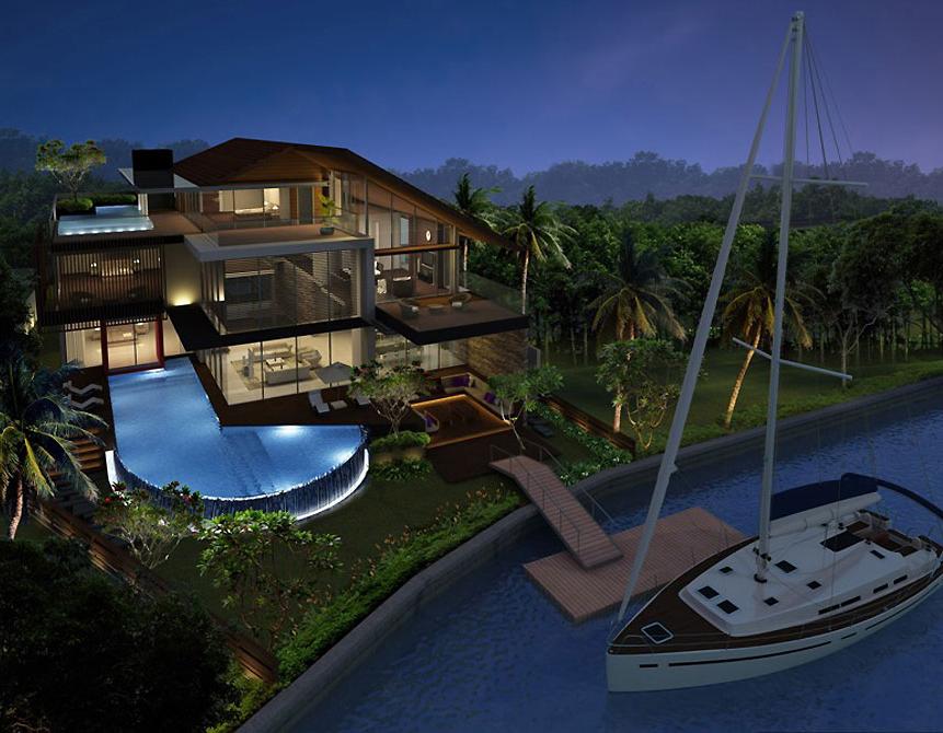 Thiết kế biệt thự hiện đại - no 2- singapore 2