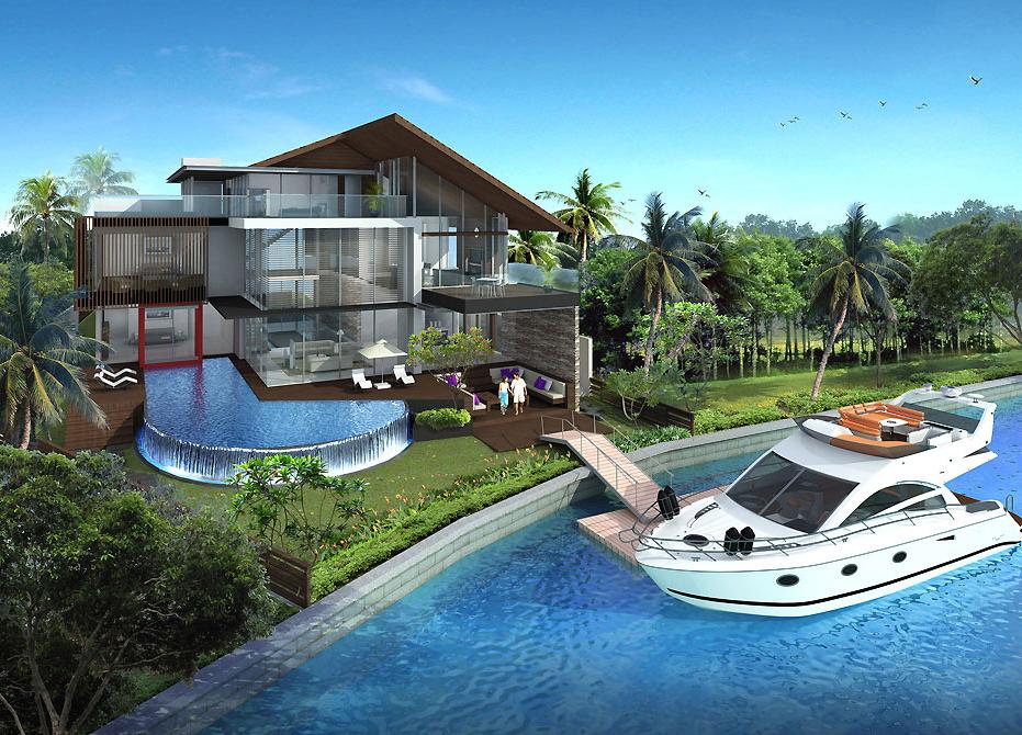 Thiết kế biệt thự hiện đại - no 2- singapore