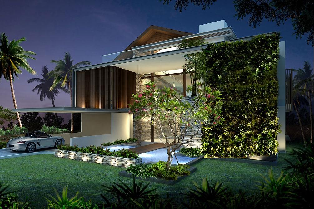 Thiết kế biệt thự hiện đại - no 2- singapore 1