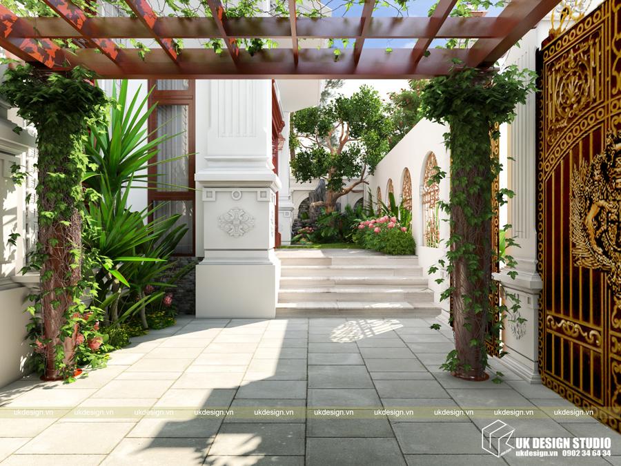 Thiết kế biệt thự cổ điển 15x20m2 7