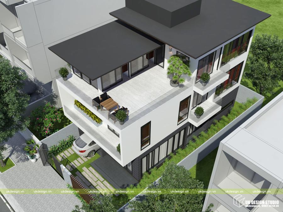 Biệt thự hiện đại 3 tầng 2