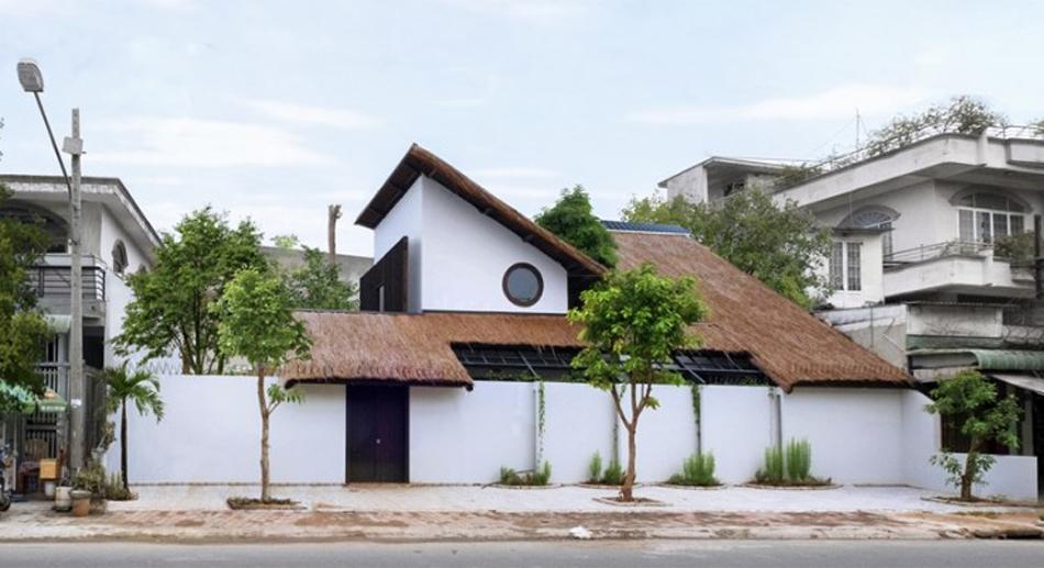 Nhà quê ra phố – Ngôi nhà giao thoa giữa tính hiện đại và vẻ đẹp dân gian bình dị