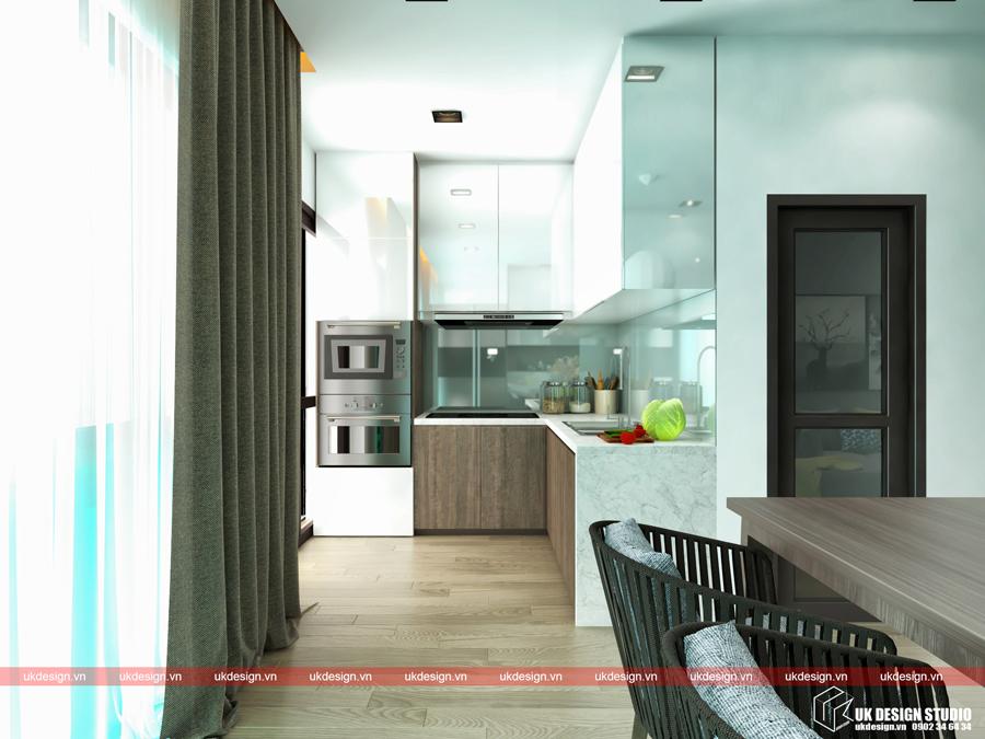 Thiết kế nội thất nhà phố diện tích nhỏ 3
