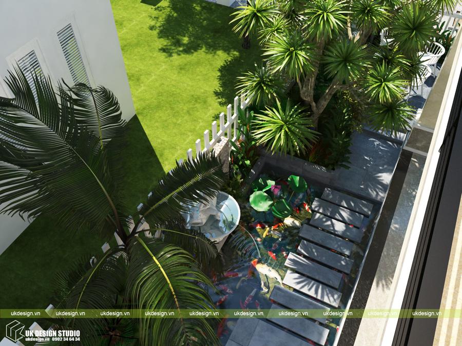 biệt thự sân vườn hiện đại 16