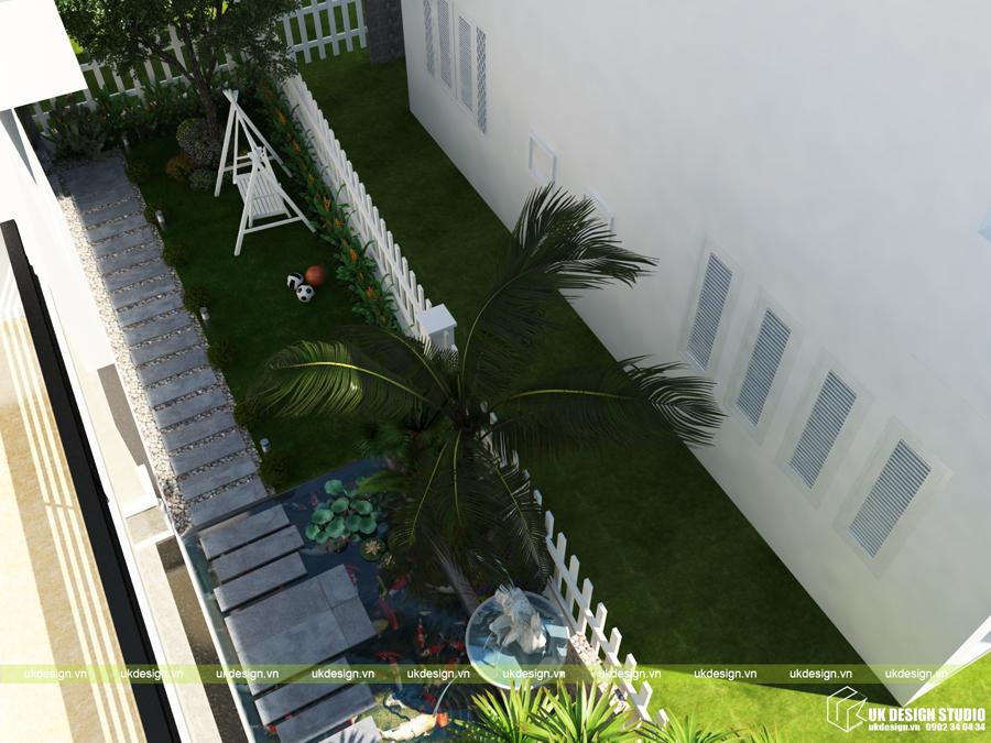 biệt thự sân vườn hiện đại 17