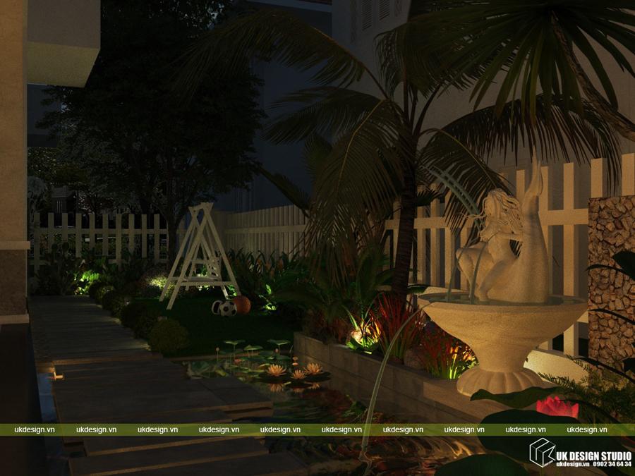 biệt thự sân vườn hiện đại 19