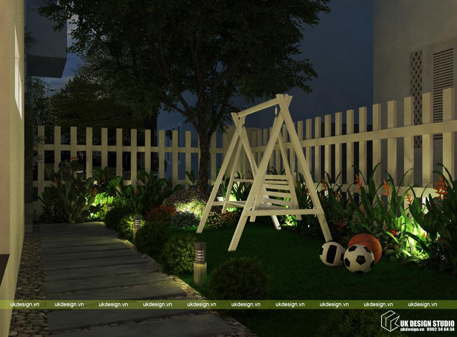 biệt thự sân vườn hiện đại 21