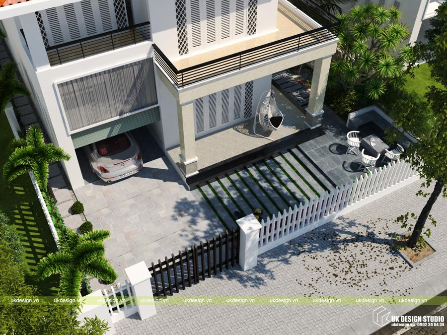 biệt thự sân vườn hiện đại 4