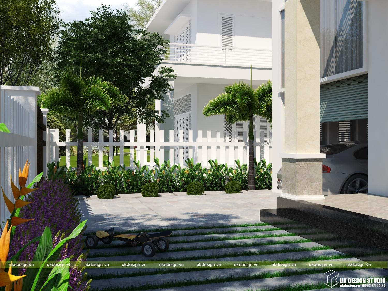 biệt thự sân vườn hiện đại 5