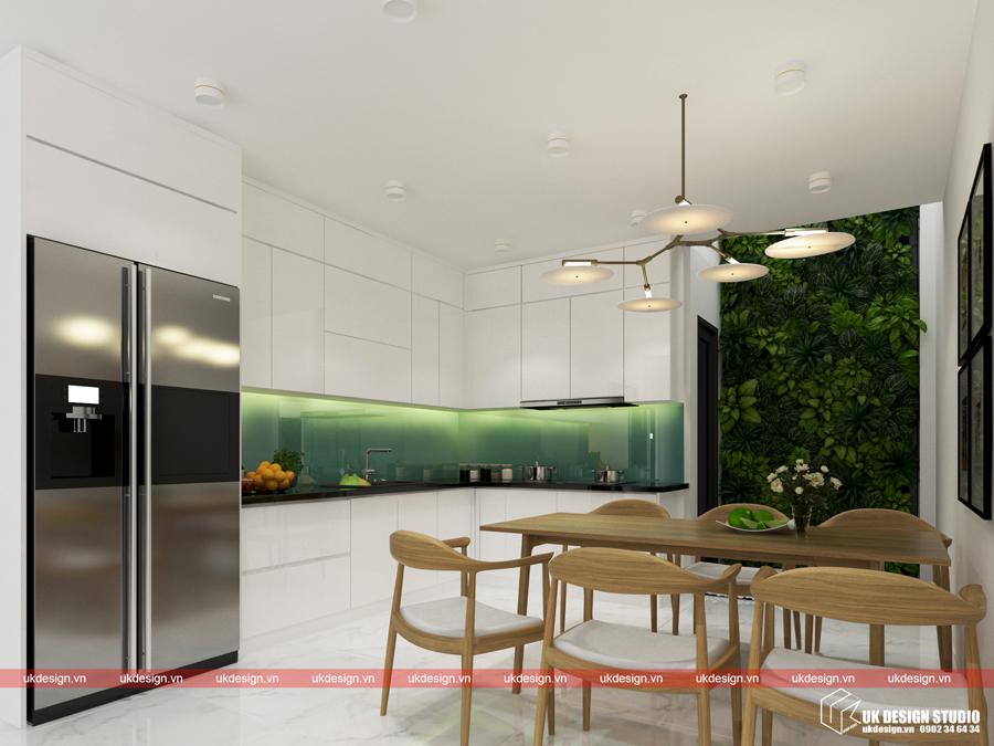 Thiết kế nội thất nhà phố hiện đại - b 1