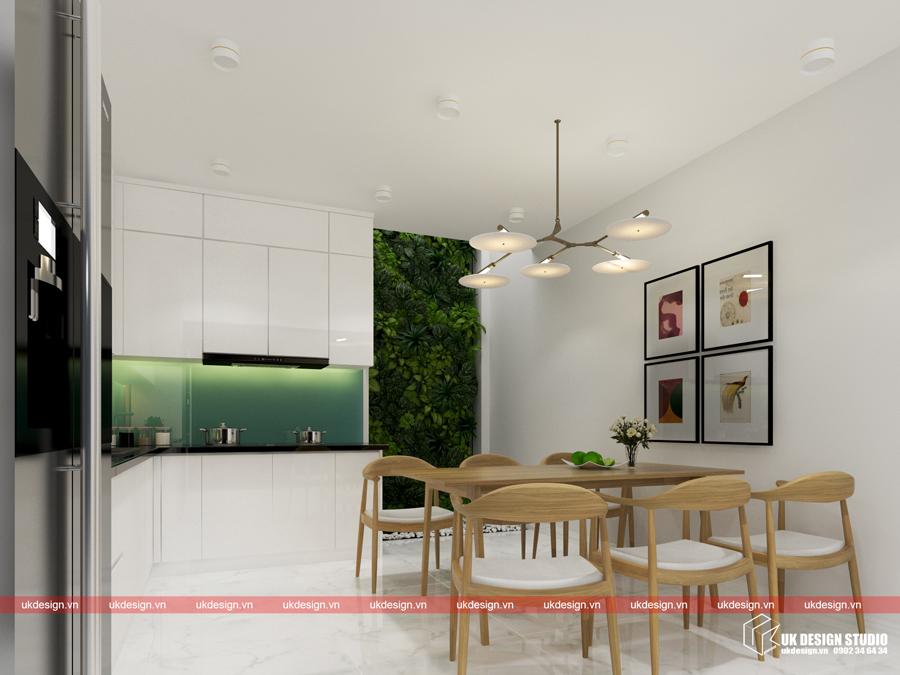 Thiết kế nội thất nhà phố hiện đại - b 2