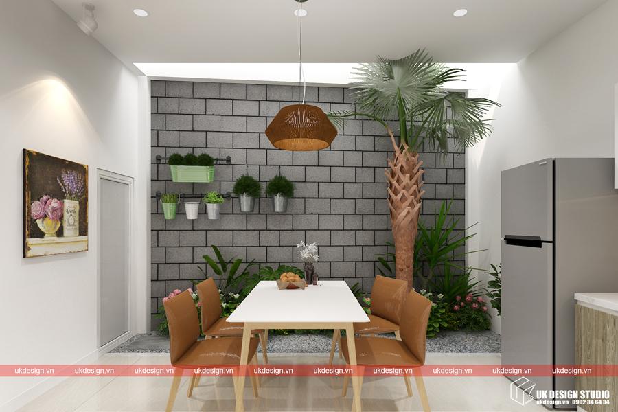 Thiết kế nội thất nhà phố 5x20m -5