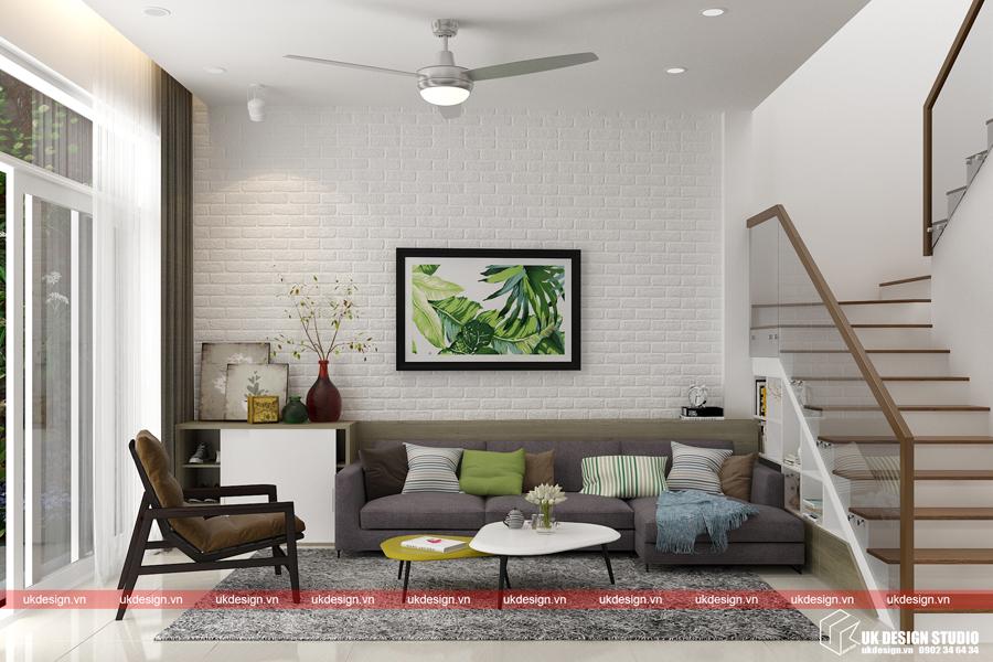 Thiết kế nội thất nhà phố 5x20m -2