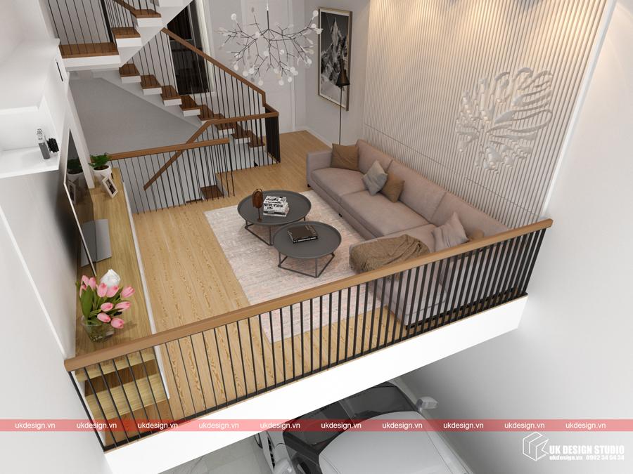 Thiết kế nội thất nhà phố hiện đại 3