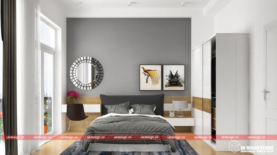 Thiết kế nội thất nhà phố hiện đại 3b