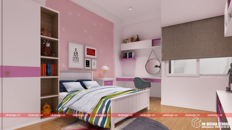 Thiết kế nội thất nhà phố hiện đại- tre con 1
