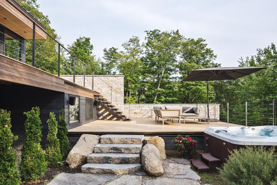 Estrade Residence – Ngôi biệt thự được thiết kế đan xen hoàn toàn hài hoà với cảnh quan