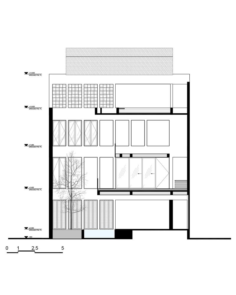 Nhà đẹp Sài Gòn -H house-  SECTION_C-C