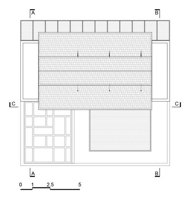 Nhà đẹp Sài Gòn -H house-mái nhà