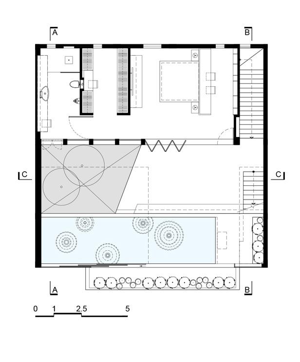 Nhà đẹp Sài Gòn -H house-tang 1