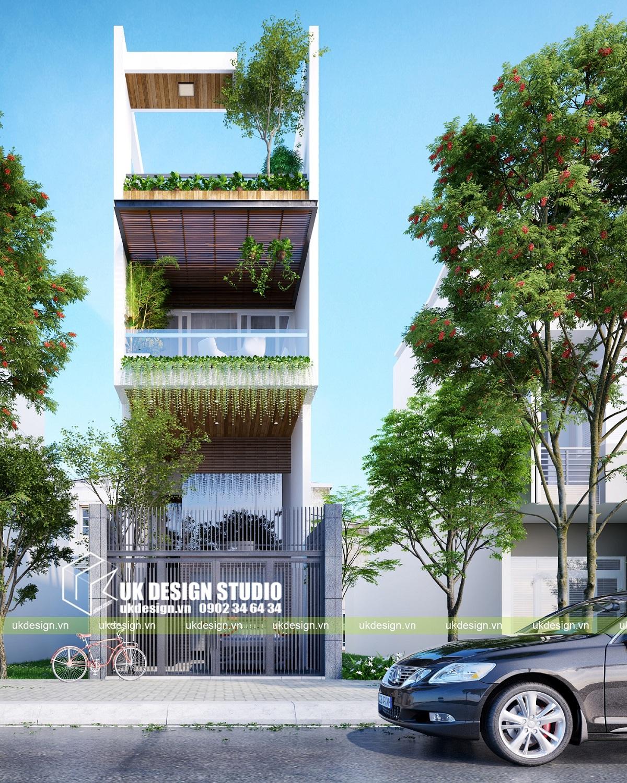 Nhà phố hiện đại 3 tầng 4,5x20m - 2