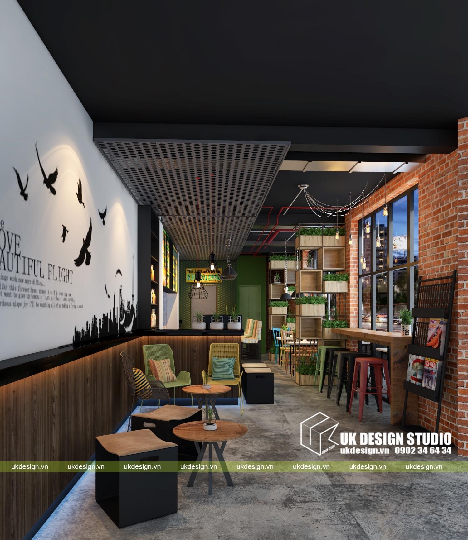 Thiết kế quán cafe và trà sữa No Name 0