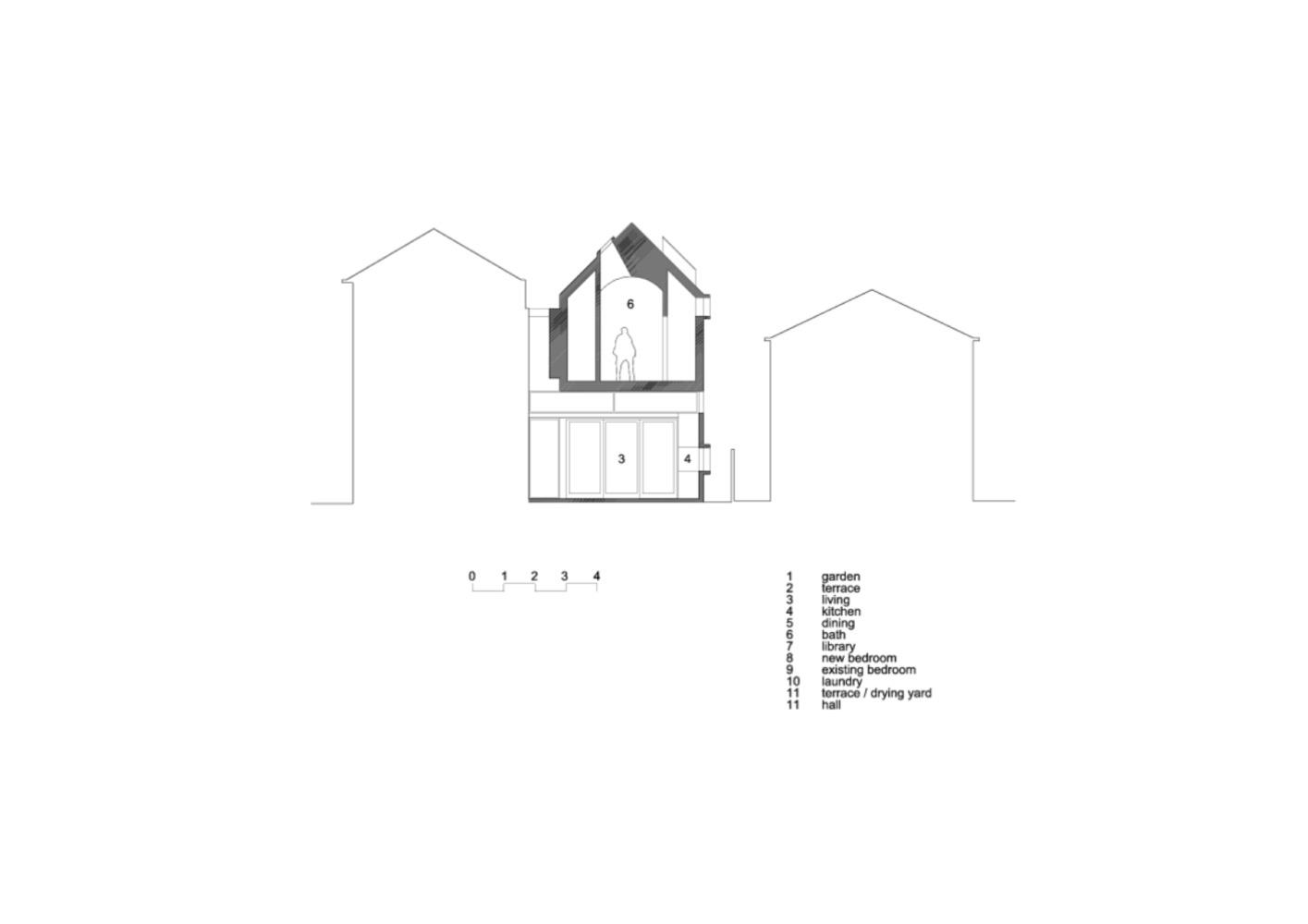 Mặt bằng nhà phố - dolls house - 4
