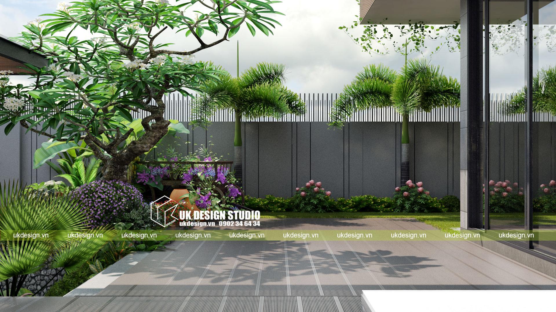 Thiết kế biệt thự vườn có hồ bơi ở Sài Gòn - 4