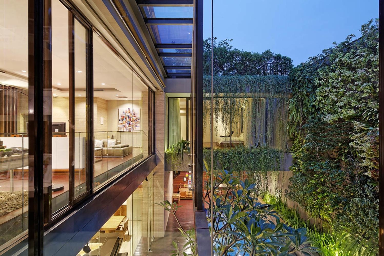Ben House – Ngôi biệt thự mang một mức độ riêng tư khác nhau