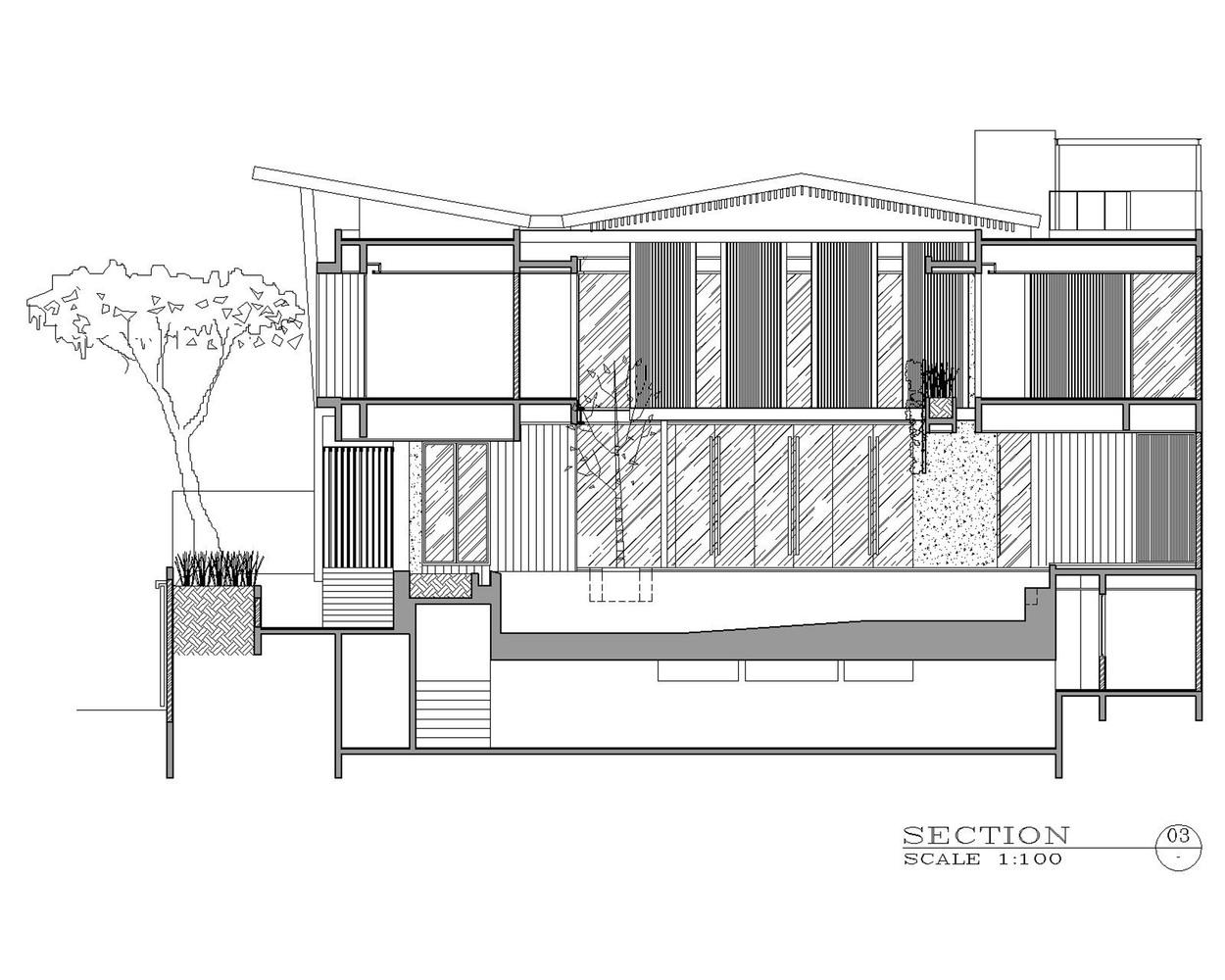 Bố trí mặt băng - Ben House - 1