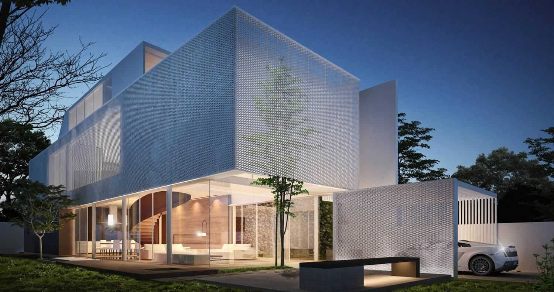 Greja House – Ngôi biệt thự như chiếc hộp bồng bềnh giữa không trung