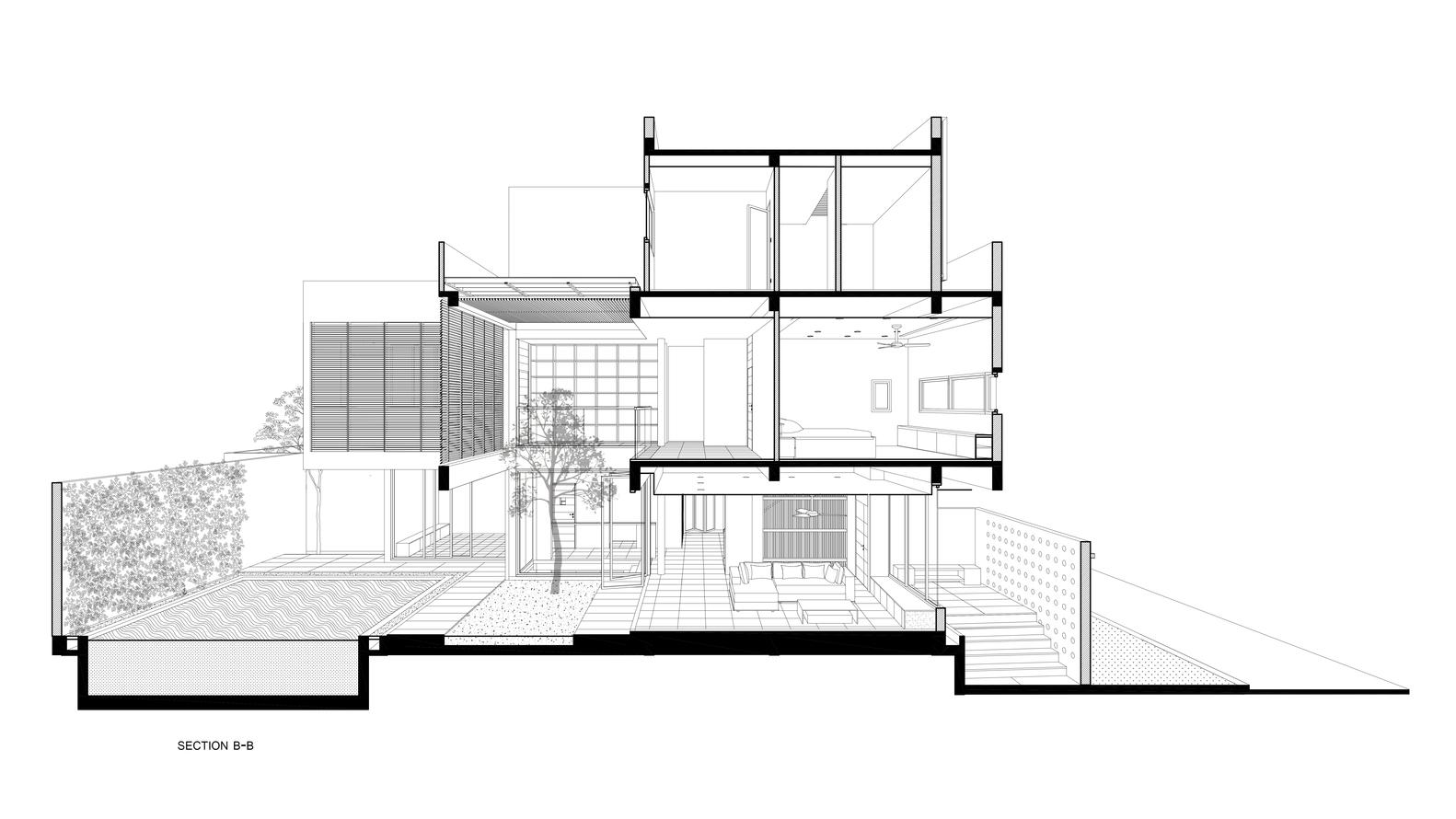 Bố trí mặt bằng - Biệt thự eden villa - 2