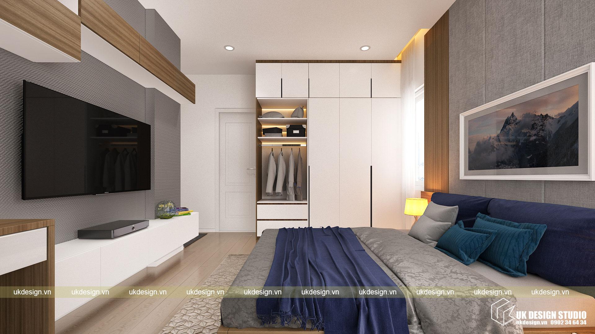 Thiết kế nội thất căn hộ 60m2 Hưng Lộc Phát 10