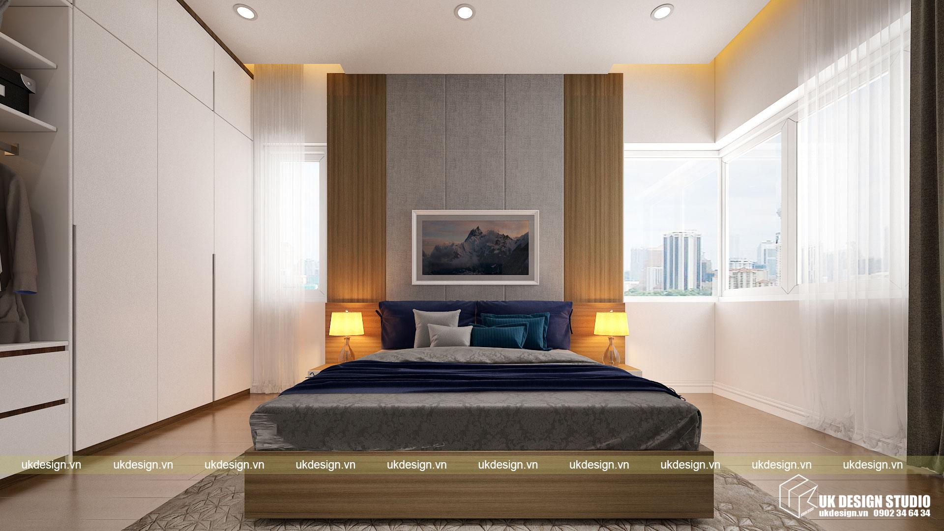 Thiết kế nội thất căn hộ 60m2 Hưng Lộc Phát 8