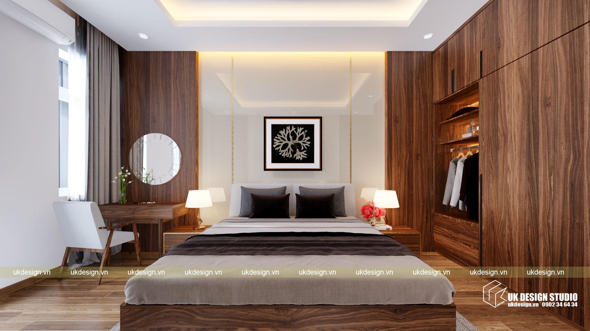 Thiết kế nội thất nhà phố 4m 10