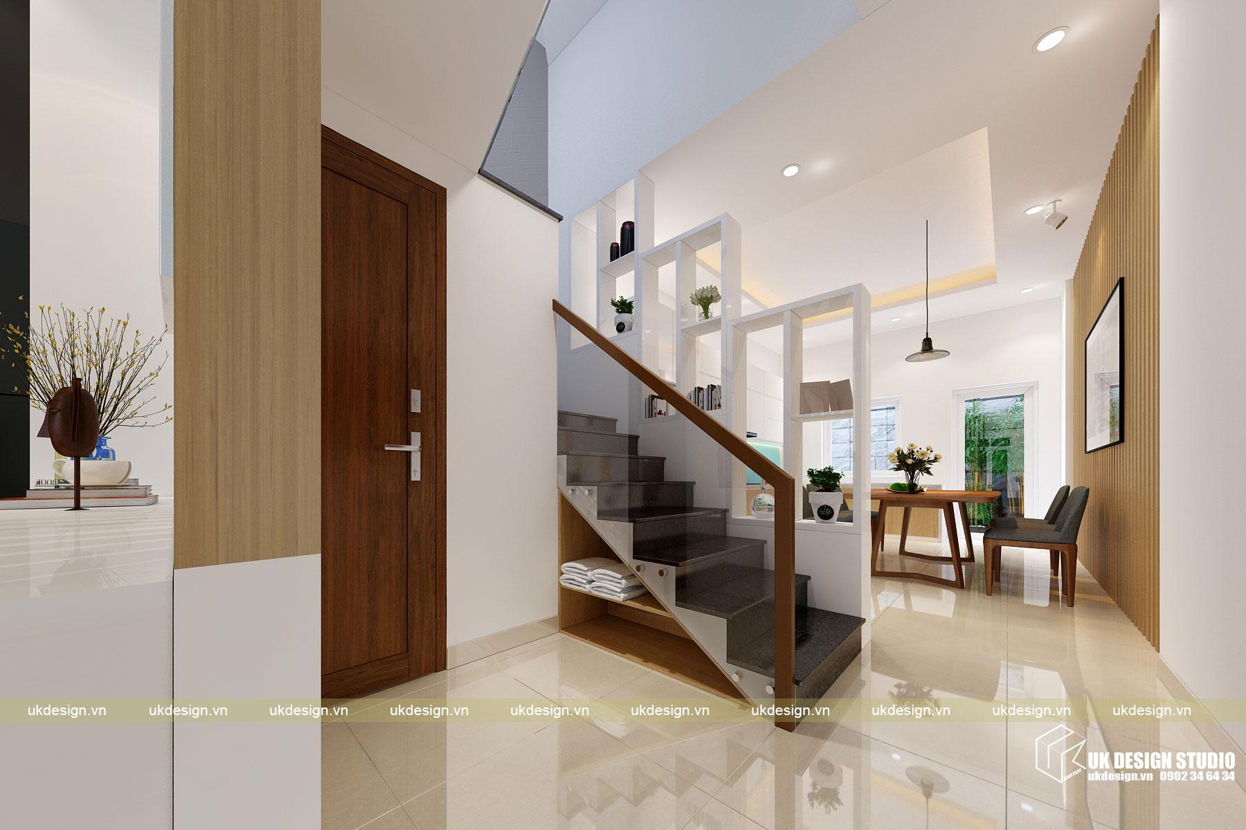 Thiết kế nội thất nhà phố 4m 4