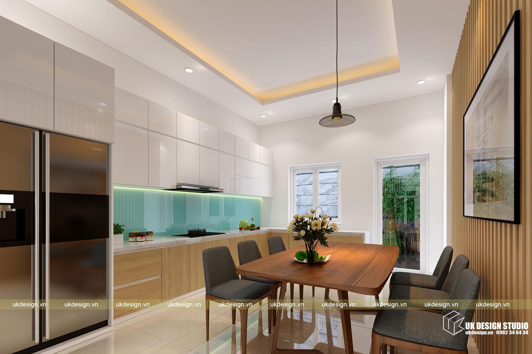 Thiết kế nội thất nhà phố 4m 5