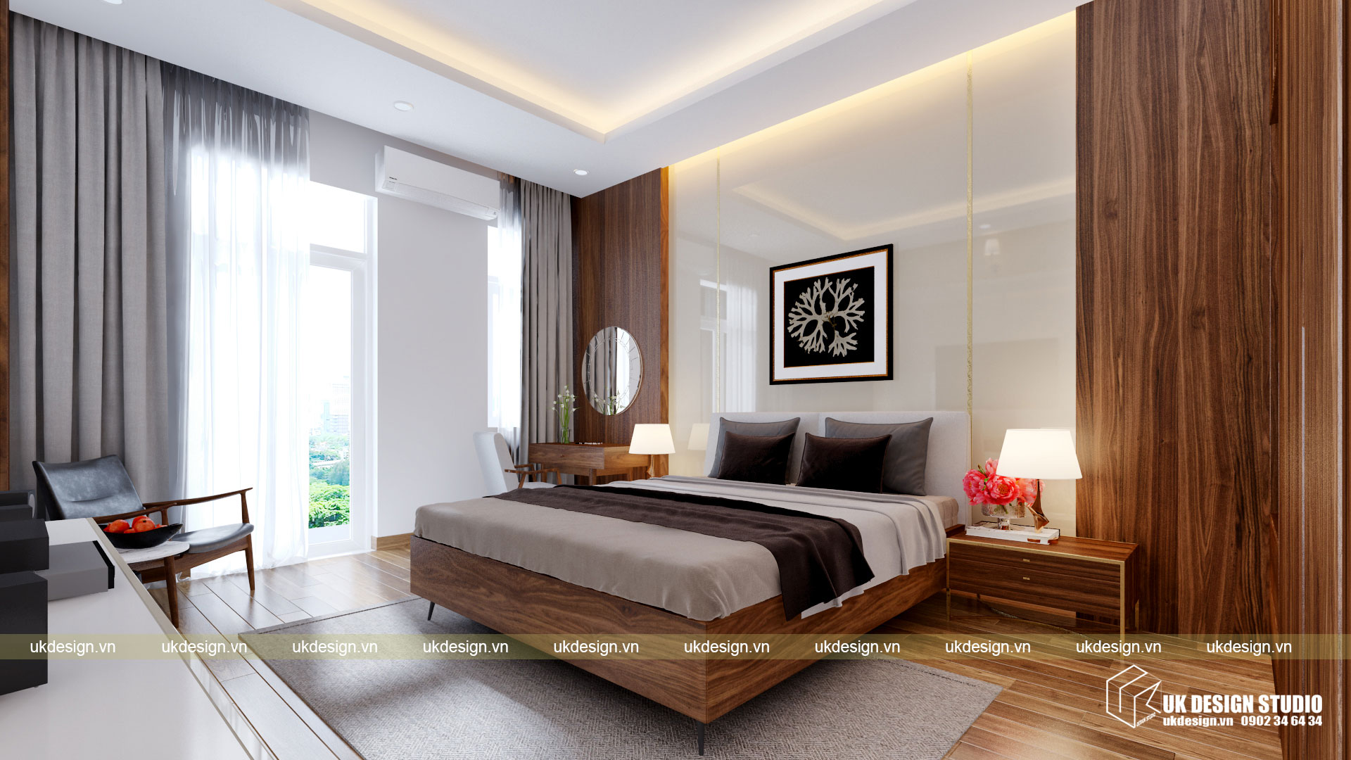 Thiết kế nội thất nhà phố 4m 9