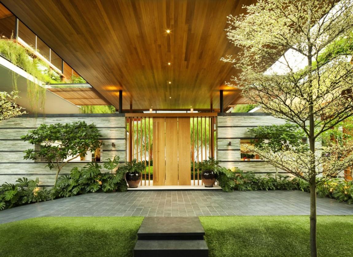 Nhà Đẹp Nước Ngoài - The Willow House - 1