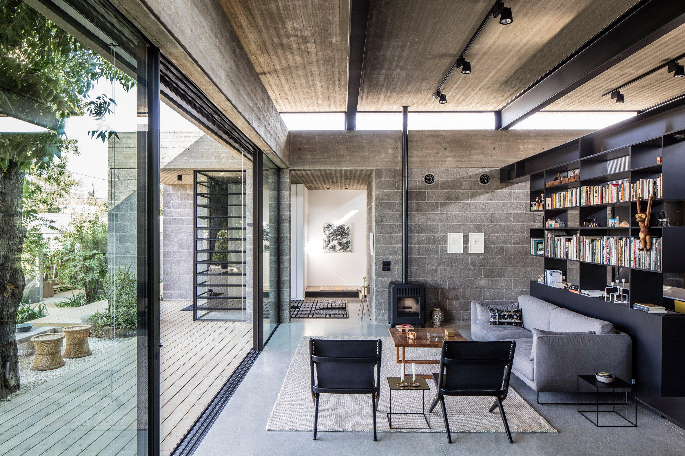 Nhà đẹp nước ngoài - bare house - 5