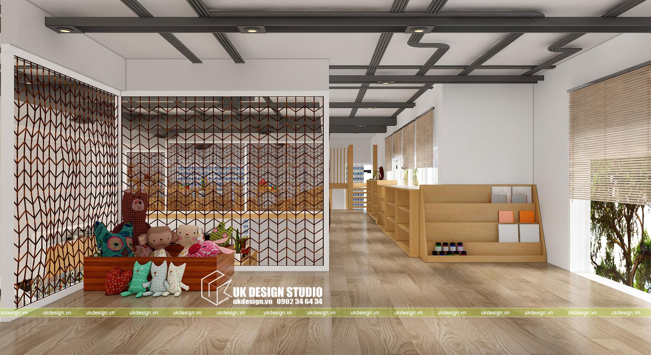 Thiết kế nội thất nhà trẻ 8