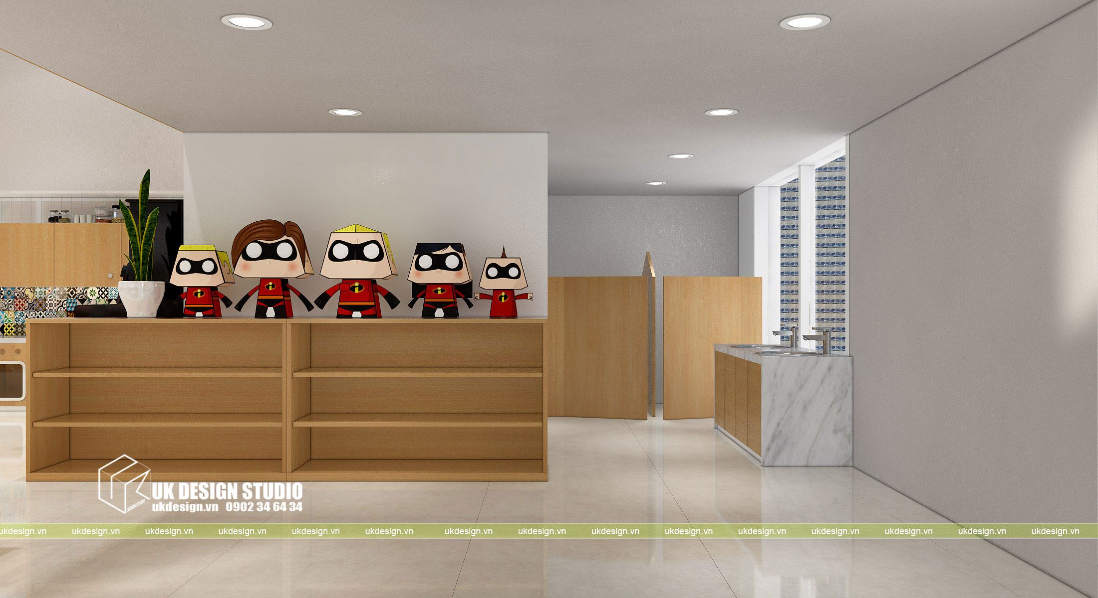 Thiết kế nội thất nhà trẻ 9