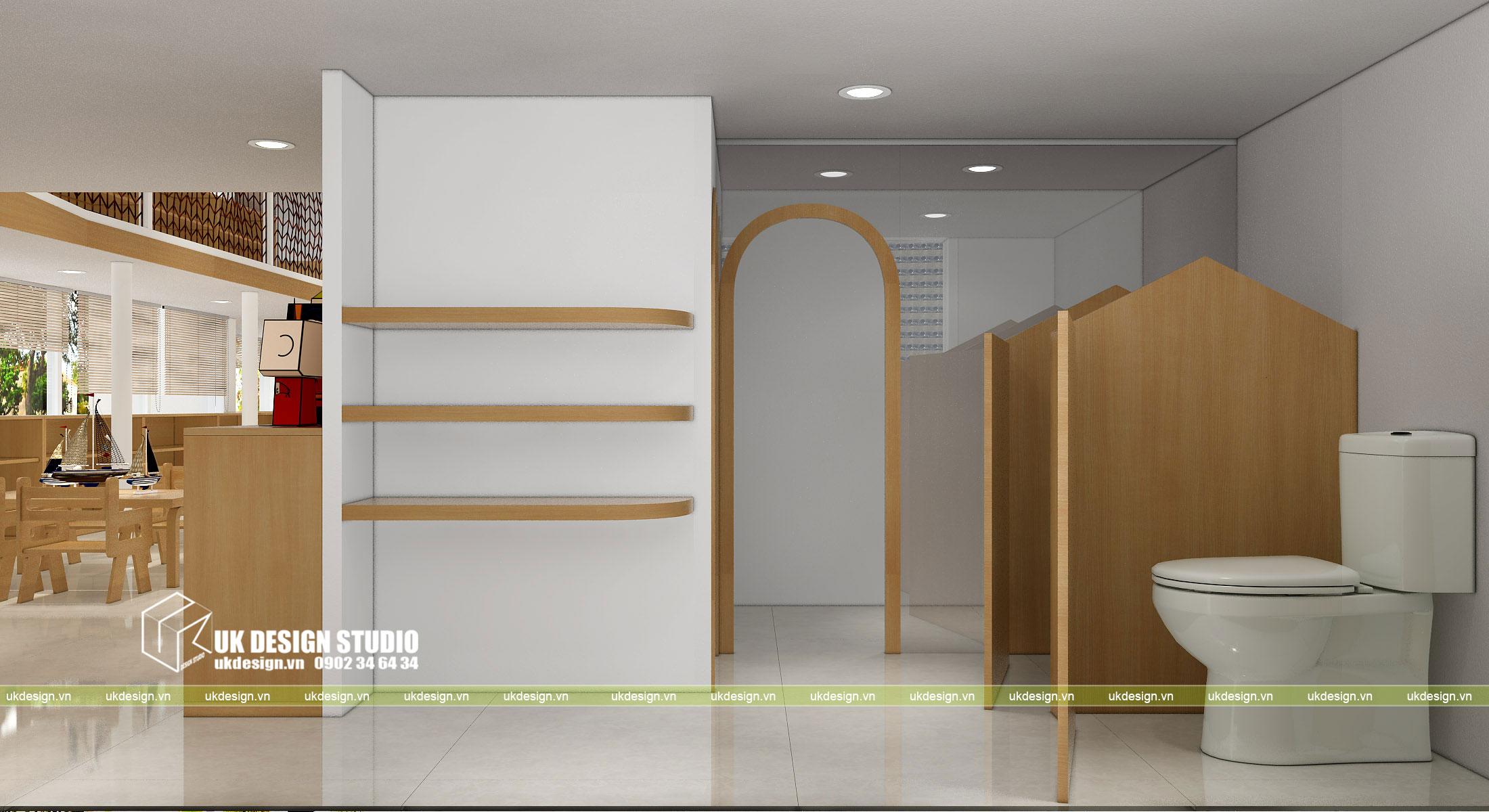 Thiết kế nội thất nhà trẻ 10