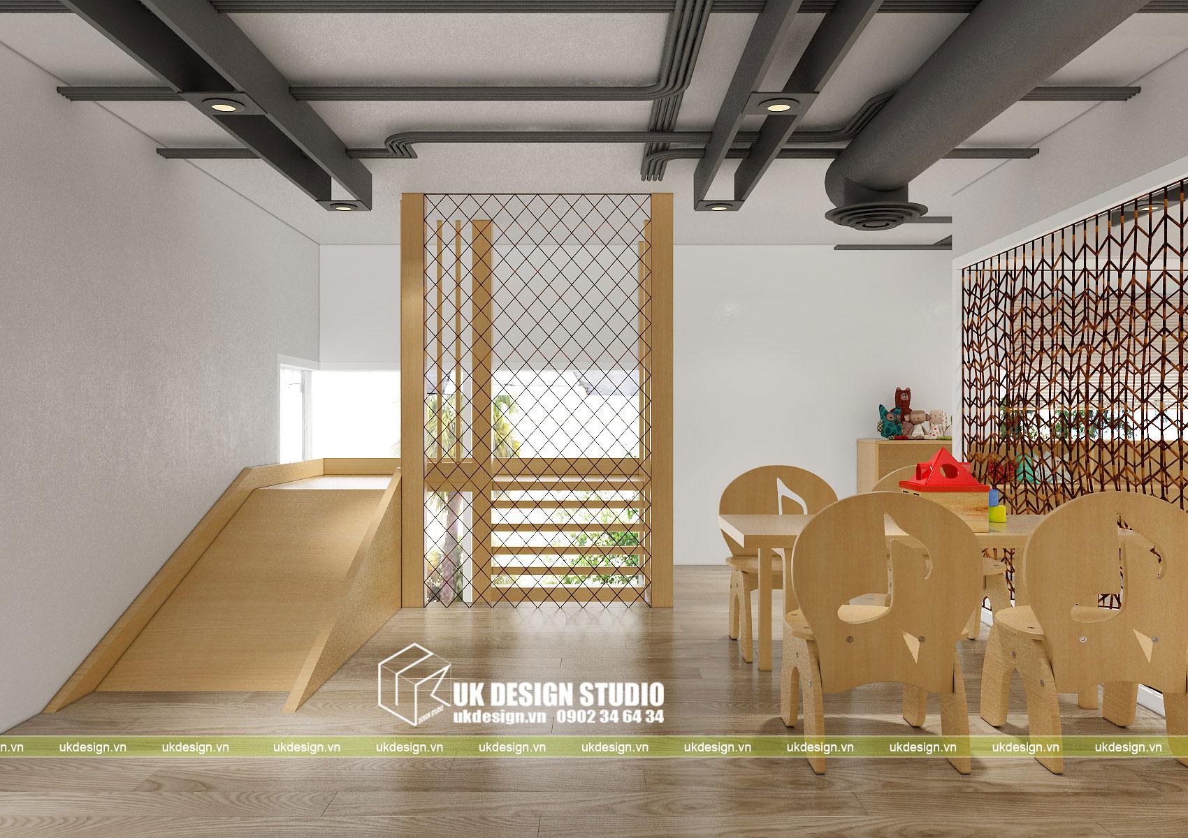 Thiết kế nội thất nhà trẻ 13