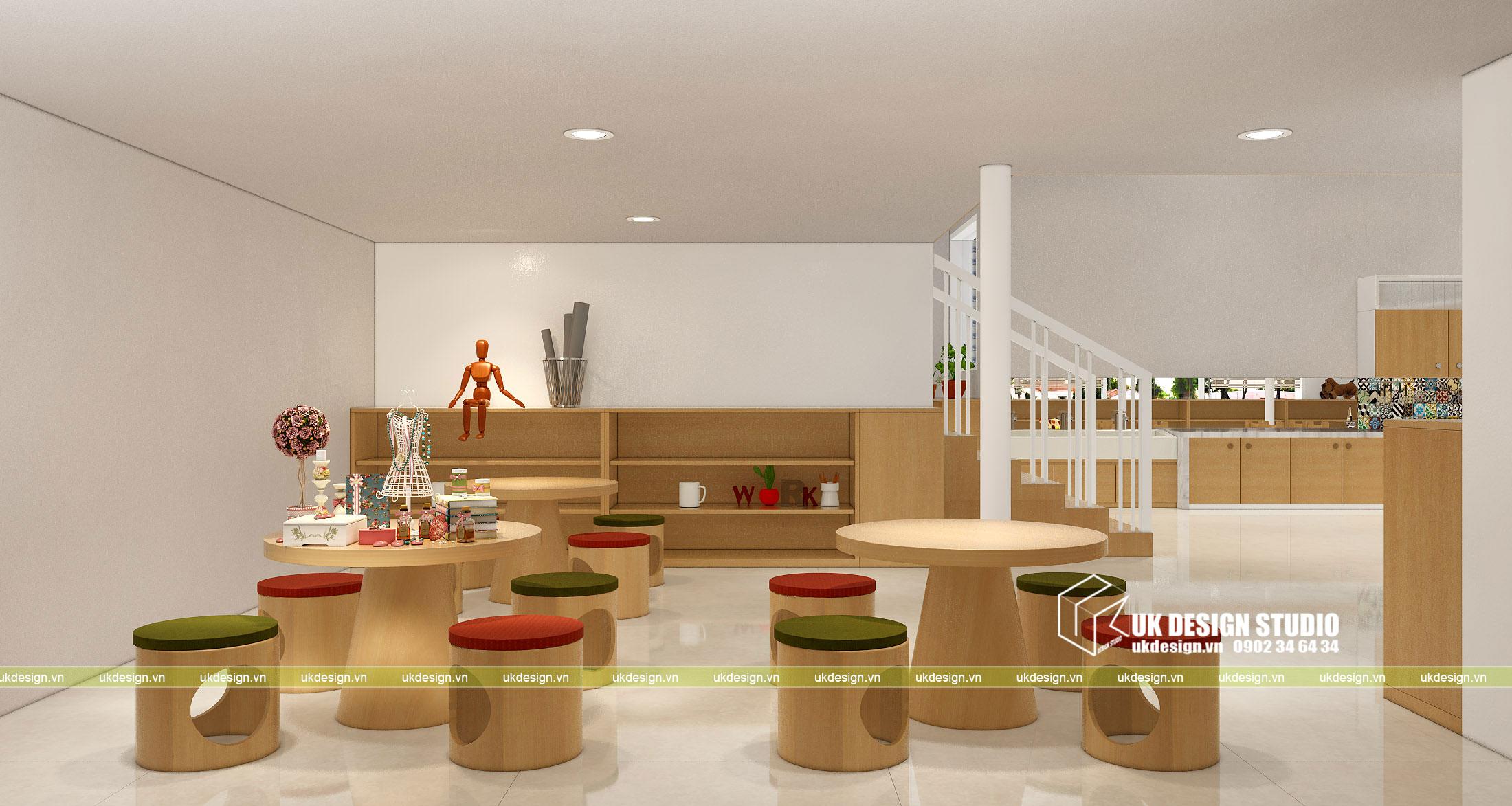 Thiết kế nội thất nhà trẻ 4