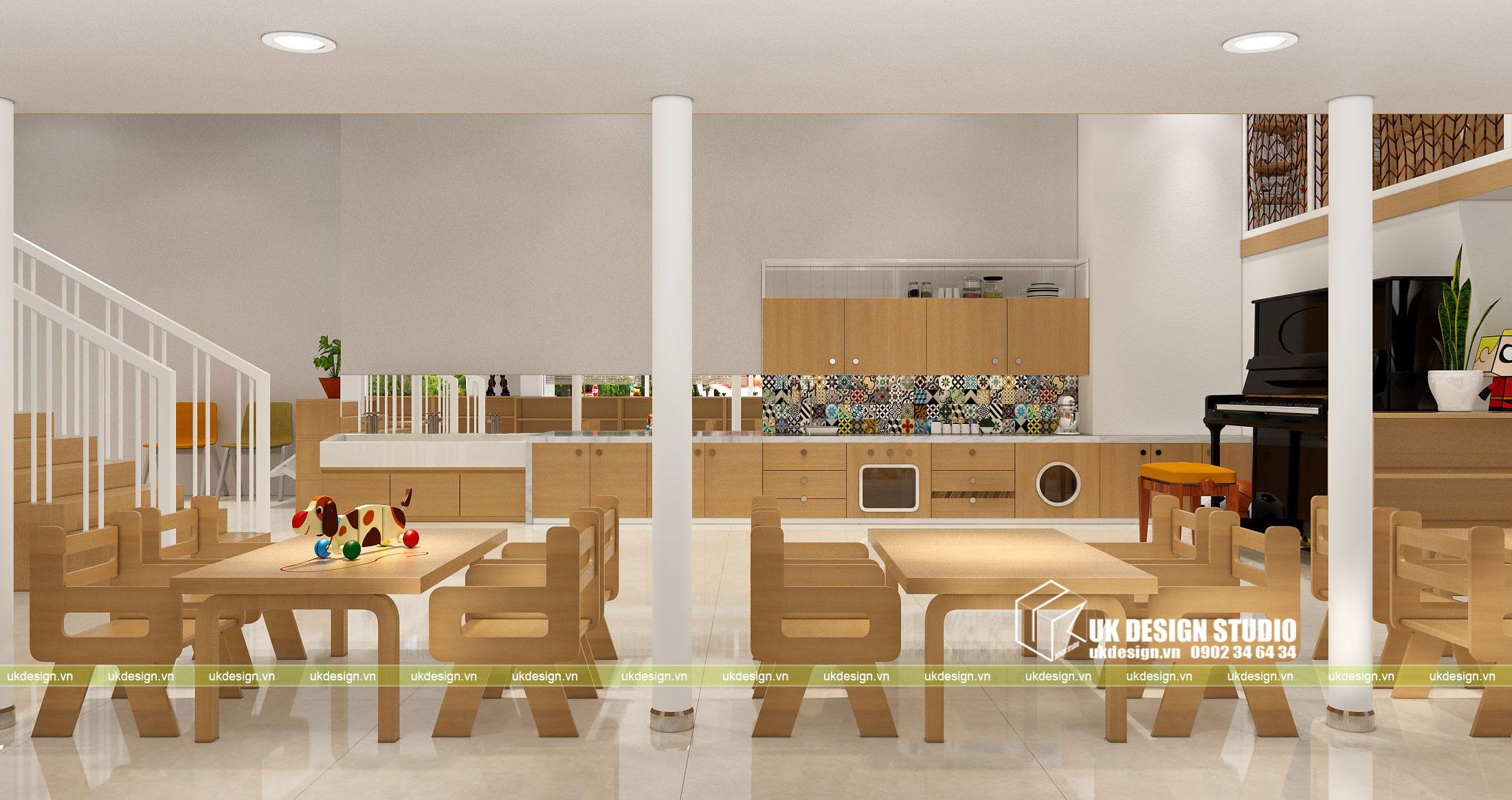 Thiết kế nội thất nhà trẻ 5